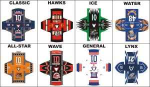 sublimated jersey templates