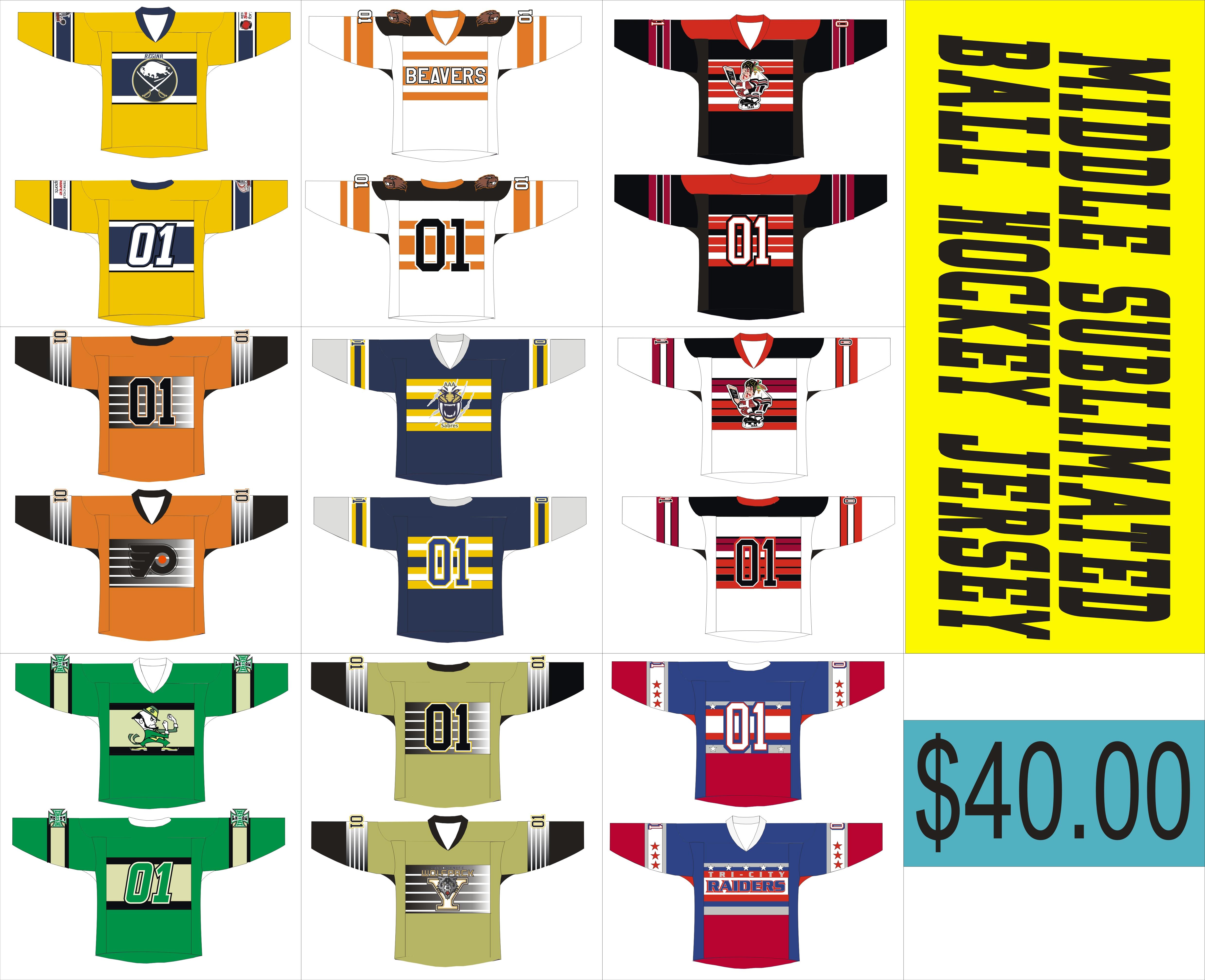... 40 ball hockey templates ... 924eecf8db5