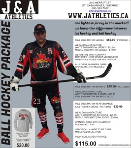 ball hockey - full sub package