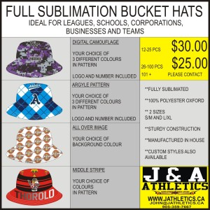 BUCKET HAT FLYER